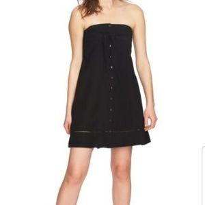 1.State XS Black New With Tags. Strapless. So Cute